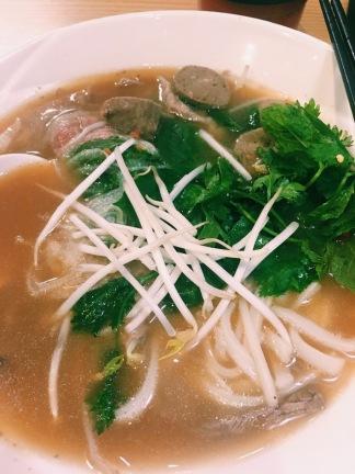 District BoHo beef pho noodles