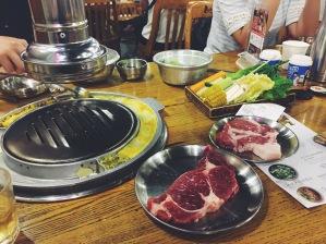 Korean BBQ on Xingsheng Road in Guangzhou