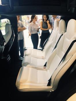 Guangzhou Tesla store grand opening, Tianhe
