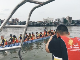 GDTV World Face Time interview with GZ International Dragon Boat Team