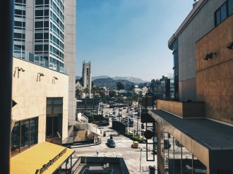 View of Hollywood sign from Hollywood and Highland Center