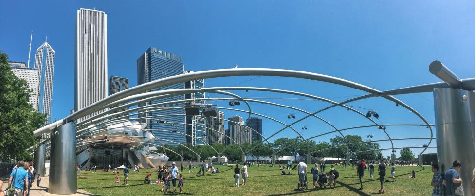 Chicago's Jay Pritzker Pavilion