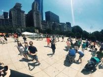 Chicago Cloud Gate, aka The Bean