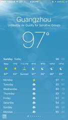 Guangzhou weather in July