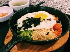 Korean bibimbap from Food Republic in Tai Koo Hui