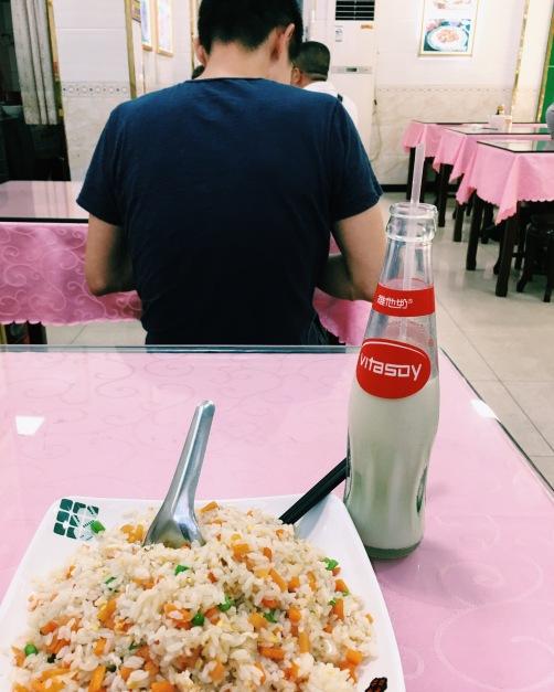 Fried rice at Muslim restaurant