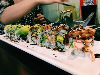 Sushi in Guangzhou