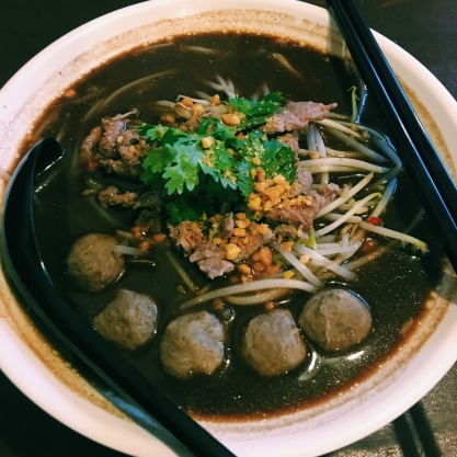 Beef noodle soup at Khao San in Guangzhou