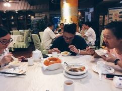 Dinner with relatives