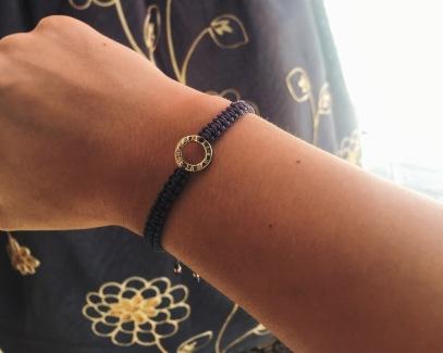 Handmade bracelet in Jeonju