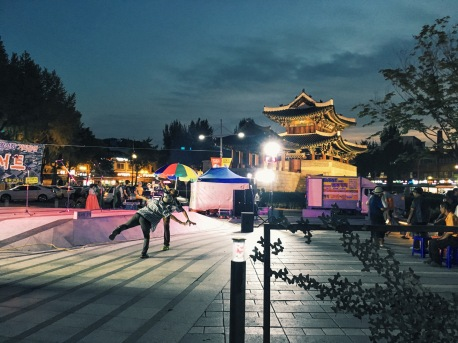 Jeonju at night
