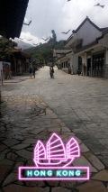 Ngong Ping Village with Hong Kong Snapchat filter