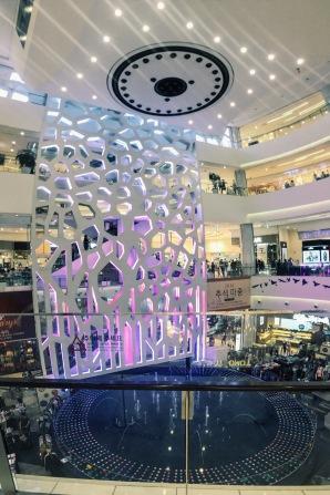 Busan Lotte fountain show