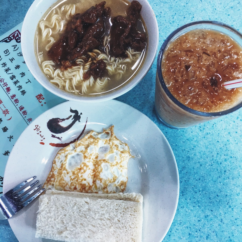 Tung Chung Estates Hong Kong-style breakfast