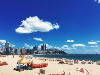 Haeundae Beach, Busan, South Korea