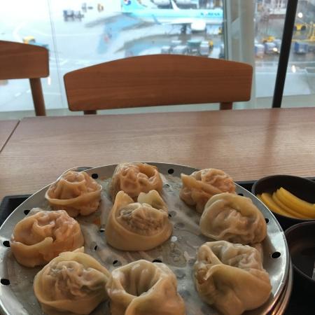 Dumplings at Incheon Airport
