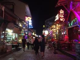 Yangshuo at night