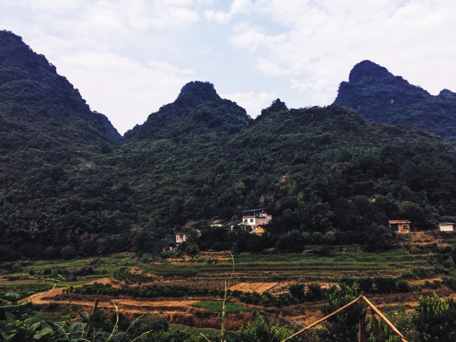 Hiking in Yangshuo