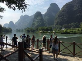 Biking with Travelers Society in Yangshuo
