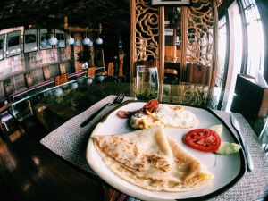 Longji One Art Hotel breakfast