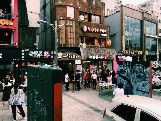 Hongdae, Seoul, South Korea