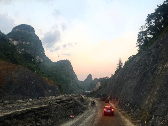 Bus from Guilin to Yangshuo
