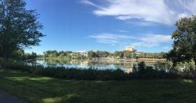 Lake Kittamaqundi in Columbia, MD