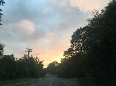 Columbia, MD sunset