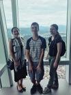 Awkward photo atop Taipei 101