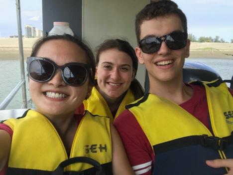 Selfie on Anping boat