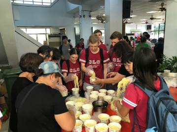 Community service in Anping