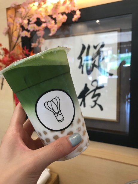The BEST matcha drink I have ever had. Hands down.