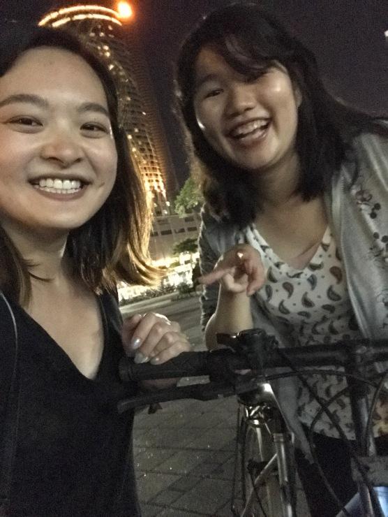 Receiving my bike!