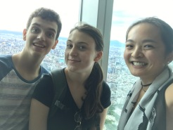 Selfie from the top of Taipei 101