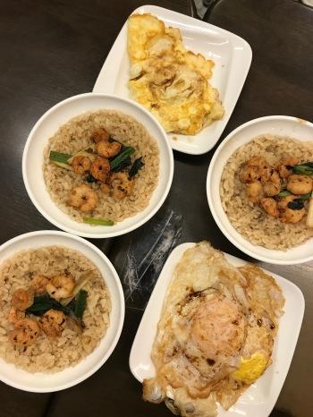 Famous shrimp rice!