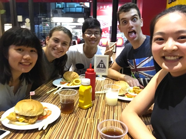 Burger joint to celebrate #MURICA in Taiwan on July 4th.