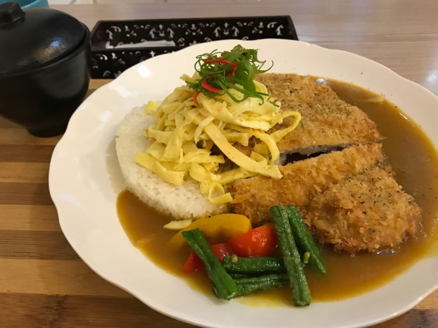 Curry pork Tainan
