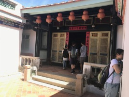 Dying in the tropical heat while touring Anping