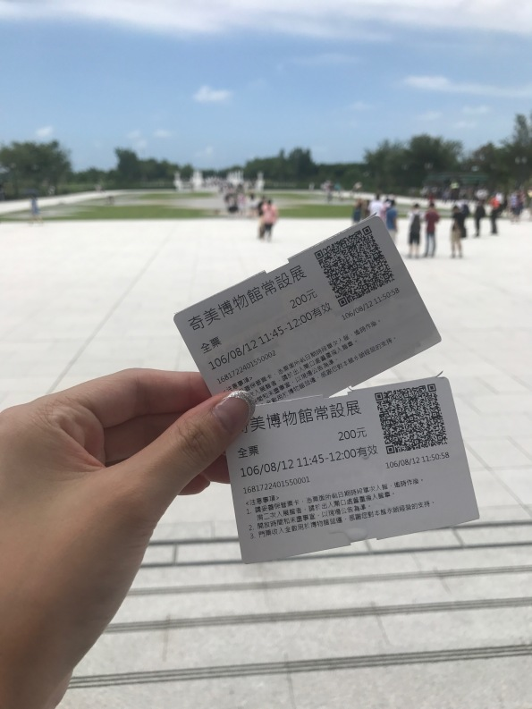 Tickets for Chimei Museum in Tainan