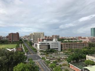 Typhoon Nesat in Tainan