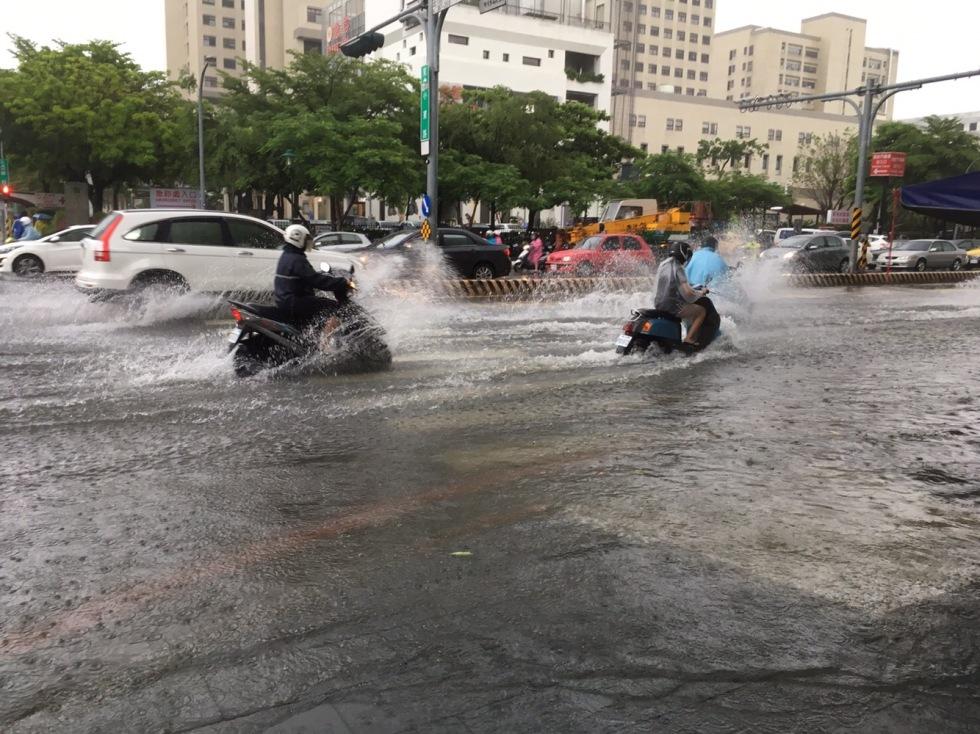 Tainan flooding