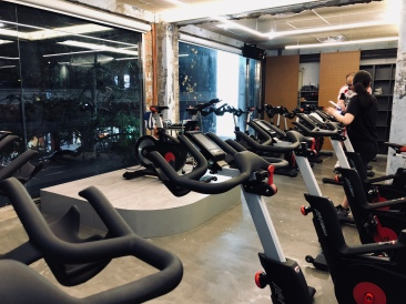 RideHere Cycling Studio in Taipei