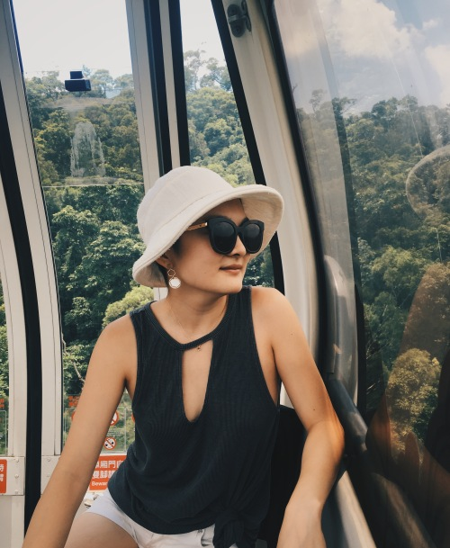 Maokong Gondola ride in Taipei