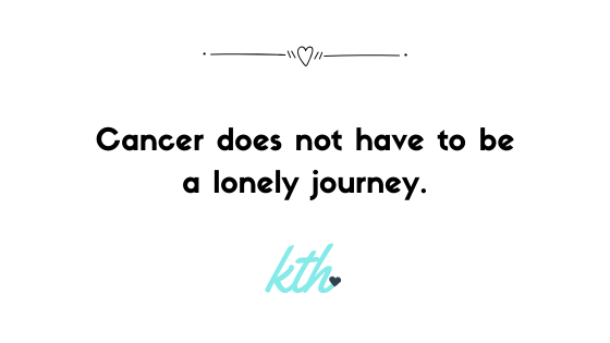 Kits to Heart: Cancer does not have to be a lonely journey.